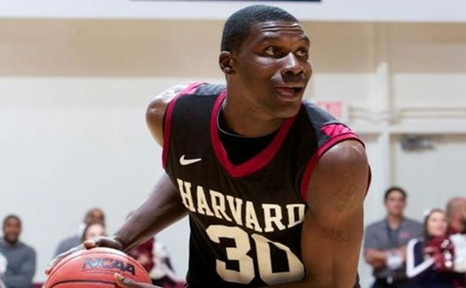In a league that is getting younger and younger, Harvard's Kyle Casey is chugging along. (AP)