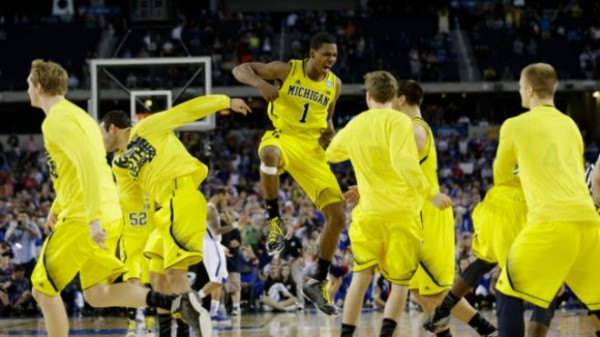 Which Big Ten Team Will Be Playing Into April Like Michigan Was Last Year?