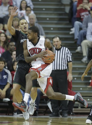 UConn Transfer Roscoe Smith Has Been A Early Bright Spot For UNLV (Julie Jacobson, AP Photo)