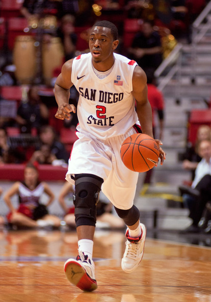 Behind Player Of The Week Xavier Thames, The Aztecs Are Outperforming Their Expectations (Kent Horner, Getty Images)