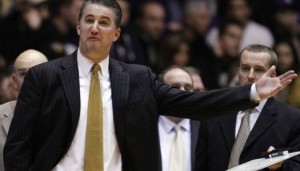 Purdue coach Matt Painter has had to rely on a bevy of young talent. (AP)
