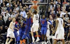 Shabazz Napier's game winner over Florida gave the AAC one of its best wins in the season's first month. (AP)