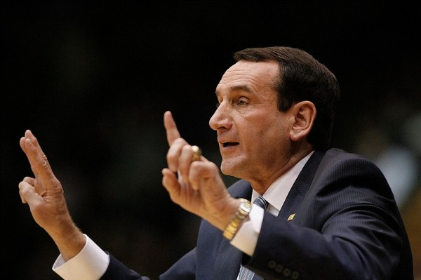 Coach Mike Krzyzewski Was Pleased With Duke's Defense In Win Over UCLA (Photo: Mark Dolejs - USA TODAY Sports)
