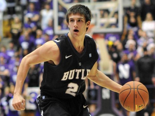 Kellen Dunham has become Butler's best player and one of the best in the Big East (Photo: John Fetcho)