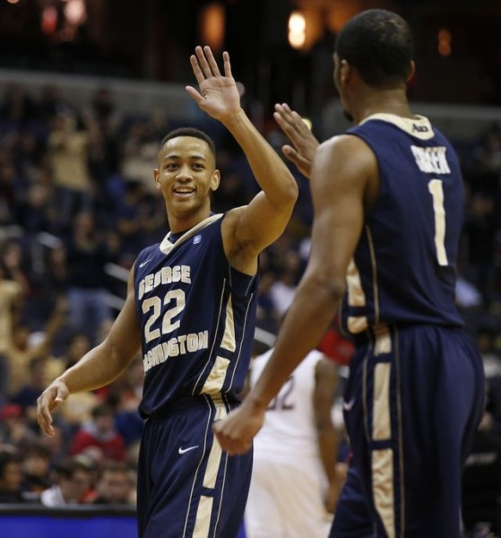 George Washington's Joe McDonald and Maurice Creek turned heads with a buzzer-beating win at Maryland (washingtontimes.com)