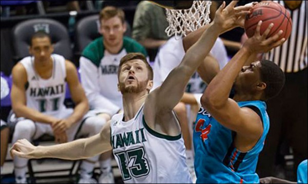 Hawaii had a fine week at the Diamond Head Classic. (AP Photo/Eugene Tanner)
