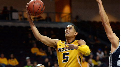 Jordan Clarkson is leading Missouri, and the SEC, in scoring (photo courtesy kmov.com).