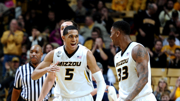 Jordan Clarkson carried Missouri in its loss to Illinois (photo courtesy stjosephpost.com).