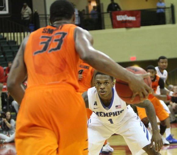 Smart showed he is human after a sub-par performance against Memphis in the Old Spice Classic (Credit: Orlando Sentinel).