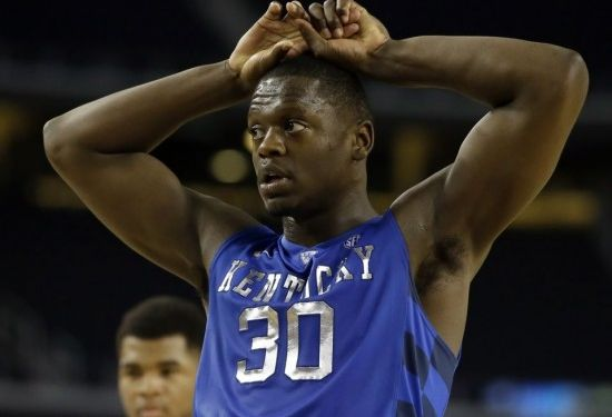 Julius Randle and the Wildcats were done in by Baylor's defense Friday night. (AP Photo/Tony Gutierrez)