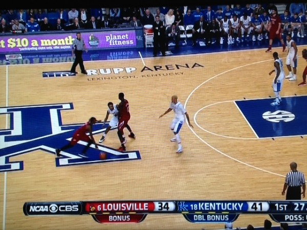 Cauley-Stein leaves too much room for a guard like Russ Smith.