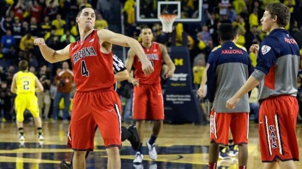 Arizona's Big Win At Michigan Has Them Firmly Entrenched As The Pac-12's Top Team (AP Photo)