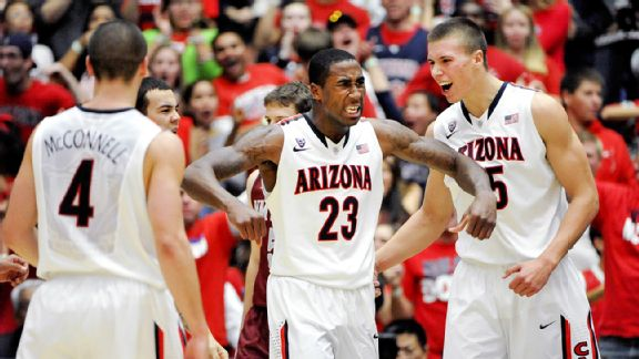 Arizona's Back In The Familiar Spot of A 1-Seed And An NCAA Favorite (Casey Sapio, USA Today)