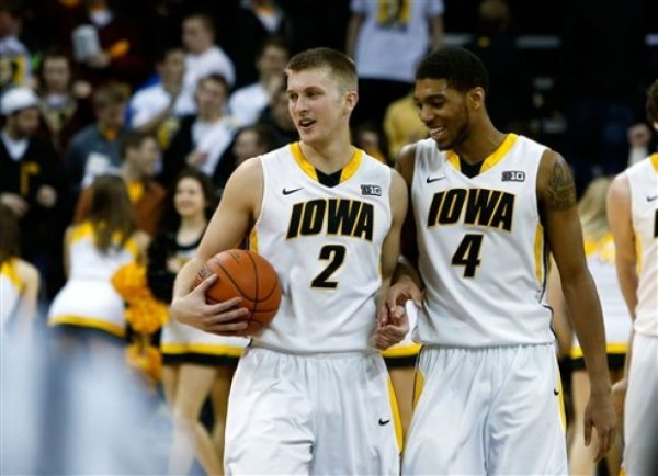 Josh Ogelsby will add even more depth to the Iowa bench with his return from injury(AP).
