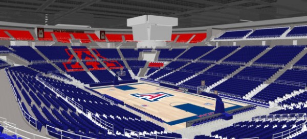 The Renovations To The McKale Center, Announced Monday, Will Put Arizona Another Step Forward On the Facilities' Front (Arizona Athletics)