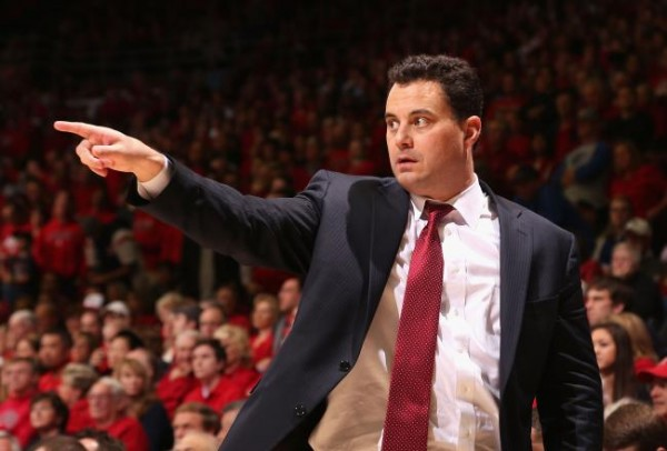 Even As The Preseason Favorite, Sean Miller Has His Arizona Team Exceeding Expectations (Christian Peterson, Getty Images)