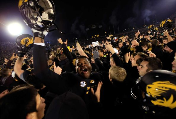 Will Missouri's Appearance In The SEC Championship On Saturday Night Dampen Enthusiasm For A Home Basketball Game (Getty Images)