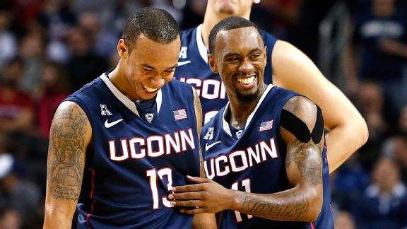 Thursday's Loss To Stanford Notwithstanding, Shabazz Napier And Ryan Boatright Have Had A Lot To Laugh About So Far This Season. Do Tougher Times Lie Ahead For The Huskies?
