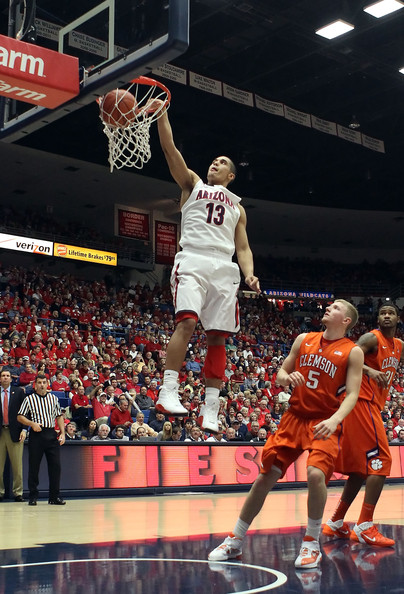 Nick Johnson Is Arizona's Leading Scorer Through Seven Games, And He Also Led The Wildcats To A 72-66 Win Over Duke On Friday. (Christian Petersen)