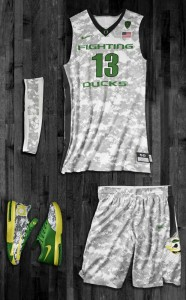 Oregon's Alternate Camouflage Uniforms Take The Top Spot In Our Rankings
