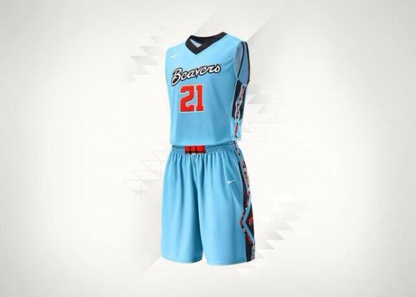 The Beavers' Alternate Turquoise Jerseys Are The Second Best In The Conference