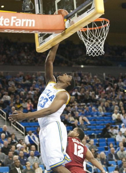 Sophomore Forward/Center Tony Parker Came Up Huge For UCLA On Saturday, Scoring 16 Points In The Bruins Win Against Alabama. (credit: Katie Meyers)