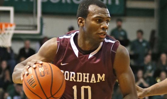 "Fordham freshman guard Jon Severe was an easy choice for RTC ""All-Newbie"" team. ((Paul J. Bereswill)/NY Post)"