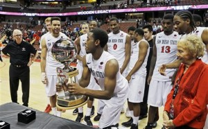 Xavier Thames' And San Diego State's Wooden Classic Title Is The Lone Highlight Of A Disappointing Early Season Effort From The Mountain West