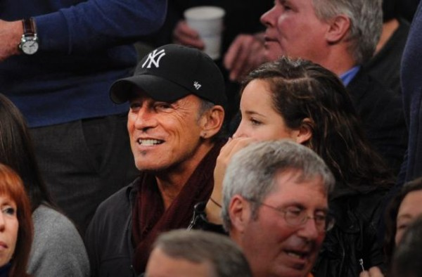 Bruce Springsteen Has Rocked MSG Many Times, But He Was the Fan Tonight (credit: NY Daily News)