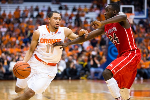 Syracuse and Tyler Ennis Make Their ACC Debuts