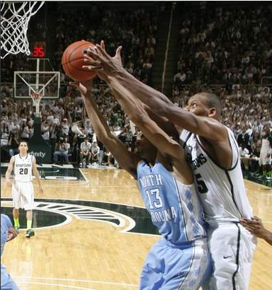 UNC Was Quicker to the Ball All Night Long Versus Michigan State (DFP/J. Gonzalez)