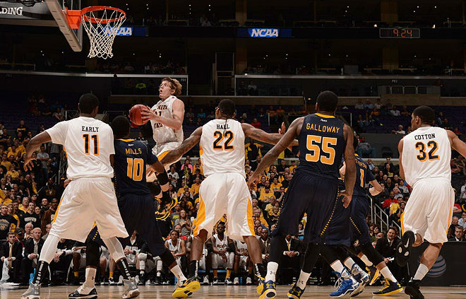 Ron Baker and Wichita State could be looking an an undefeated regular season. (Photo courtesy of si.com)