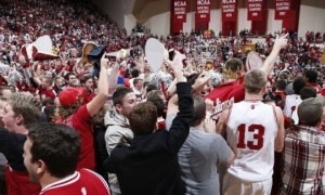 The Indiana faithful certainly had something to cheer about this week. Could the Hoosiers be on the upswing? (Getty)
