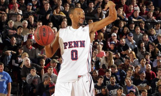 Miles Jackson-Cartwright nailed the game-winning FTs against Princeton. (Penn Athletics)