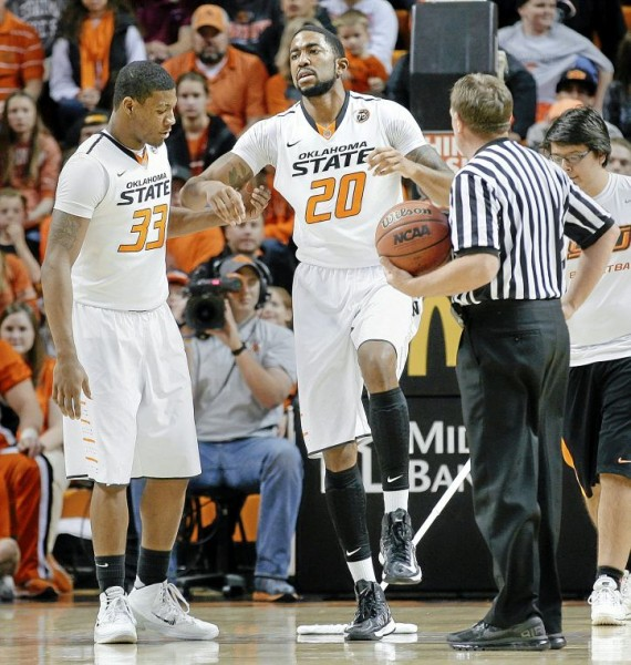 Michael Cobbins' Achilles injury throws a wrench into Oklahoma State's aspirations. How will the Pokes respond? (Michael Wyke/Tulsa World)