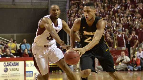 Towson's Jerrelle Benimon had another huge week. (Towson Athletics)