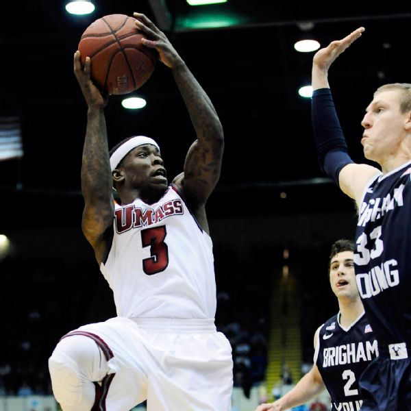 Umass's Chaz Williams is one of the best point guards in the entire country. (AP Photo/Jessica Hill)