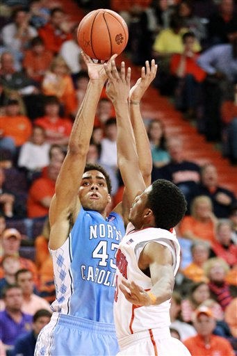 James Michael McAdoo Will Try and Keep Clemson Winless in Chapel Hill. (AP Photo / Mark Cramer)