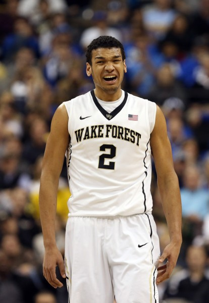 Wake Forest's Devin Thomas is one of the best in the business