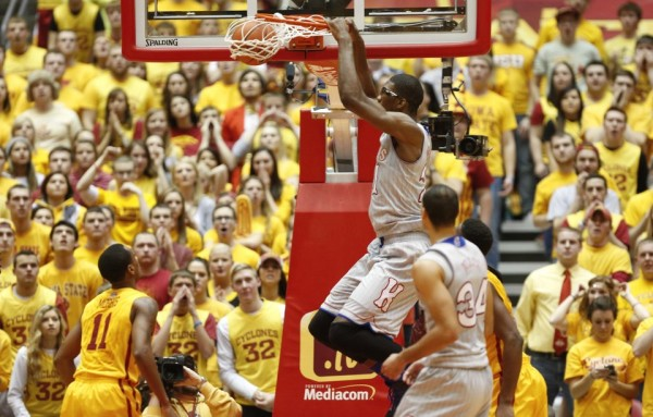 Joel Embiid dominated in the second half against Iowa State.