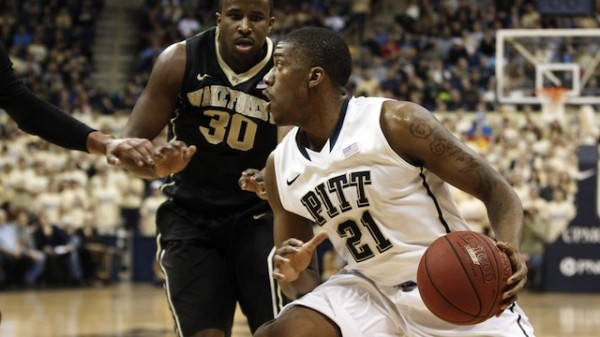 Lamar Patterson has led Pitt all season and his Panthers are in first place. That isn't enough for Wooden Watch List spot? (Charles LeClaire/USA Today)