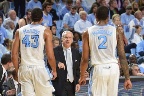 Leslie McDonald Has Joined Roy Williams' Starting Lineup. (Photo: Bob Donnan / USA Today)