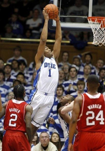 Jabari Parker Has Been More Aggressive Lately For Duke. (Photo: Ethan Hyman)