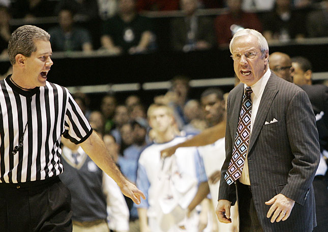 Roy Williams Frustrated
