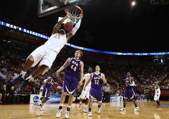 Stephen F. Austin (pictured) and Oral Roberts will be forfeiting Southland Conference games. (Photo courtesy of zimbio.com)