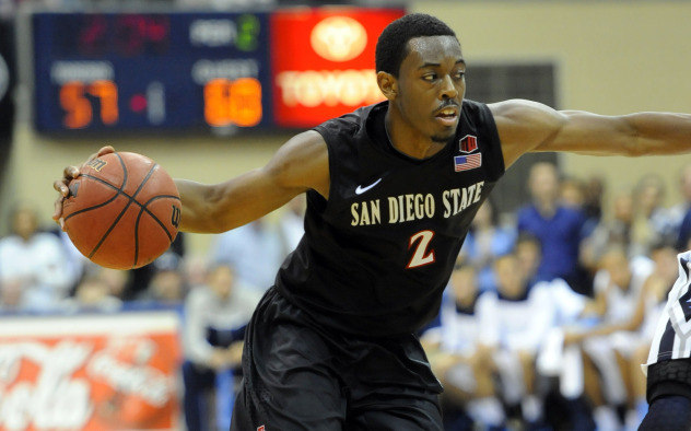 Xavier Thames and San Diego State are safely in the field of 68.