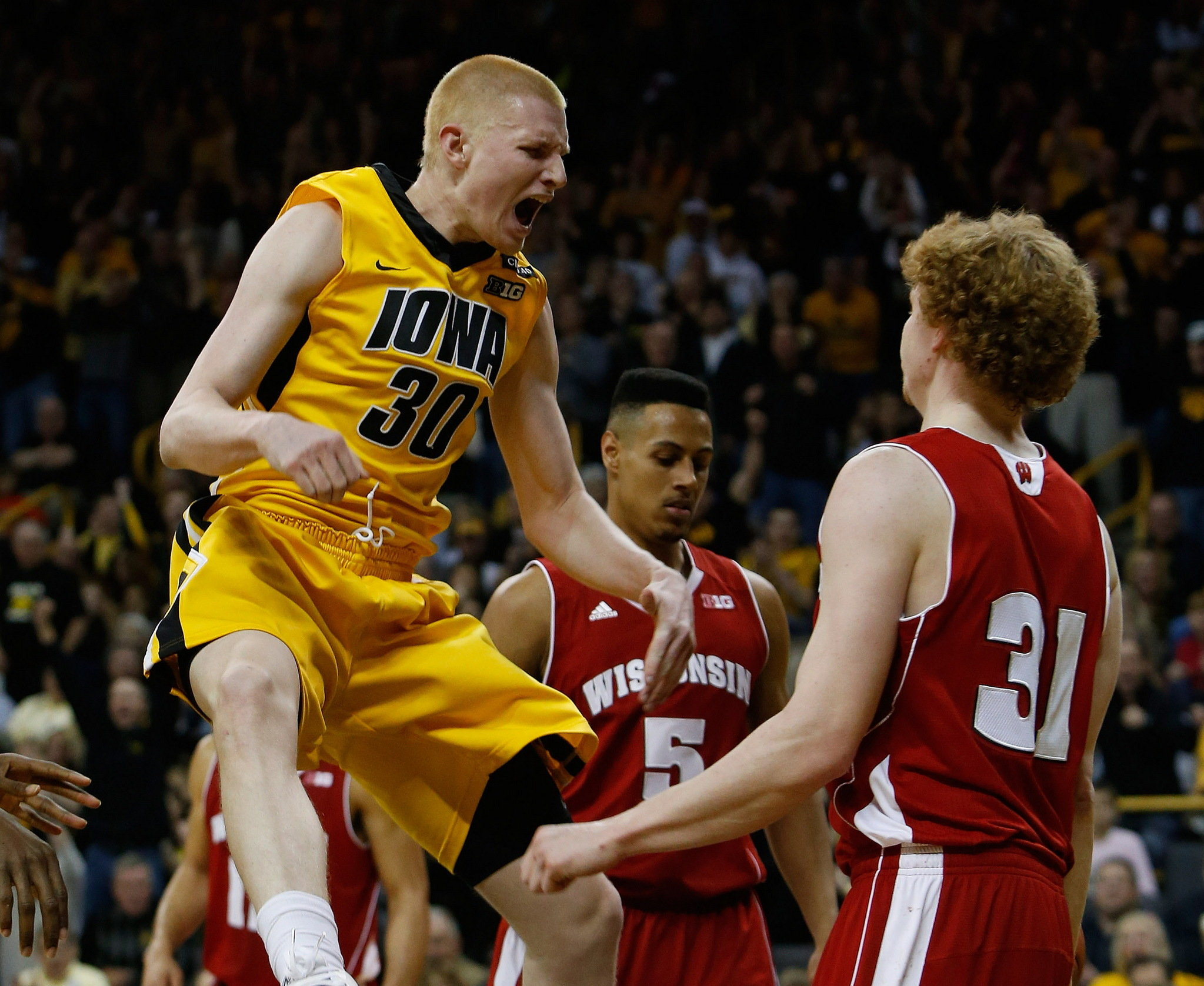 Aaron White may need a big game on Sunday to get a win in Madison (Brian Ray, The Gazette via AP)