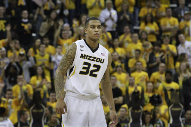 Jabari Brown and Missouri face a five game stretch that might decide their NCAA fate (kbiasports.com).
