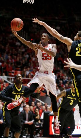 Delon Wright is a Star in Utah (George Frey, AP)