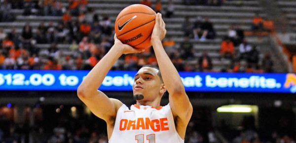 Can anyone disrupt Syracuse's diaper dandy? (credit: Mark Konezny / USA TODAY Sports)